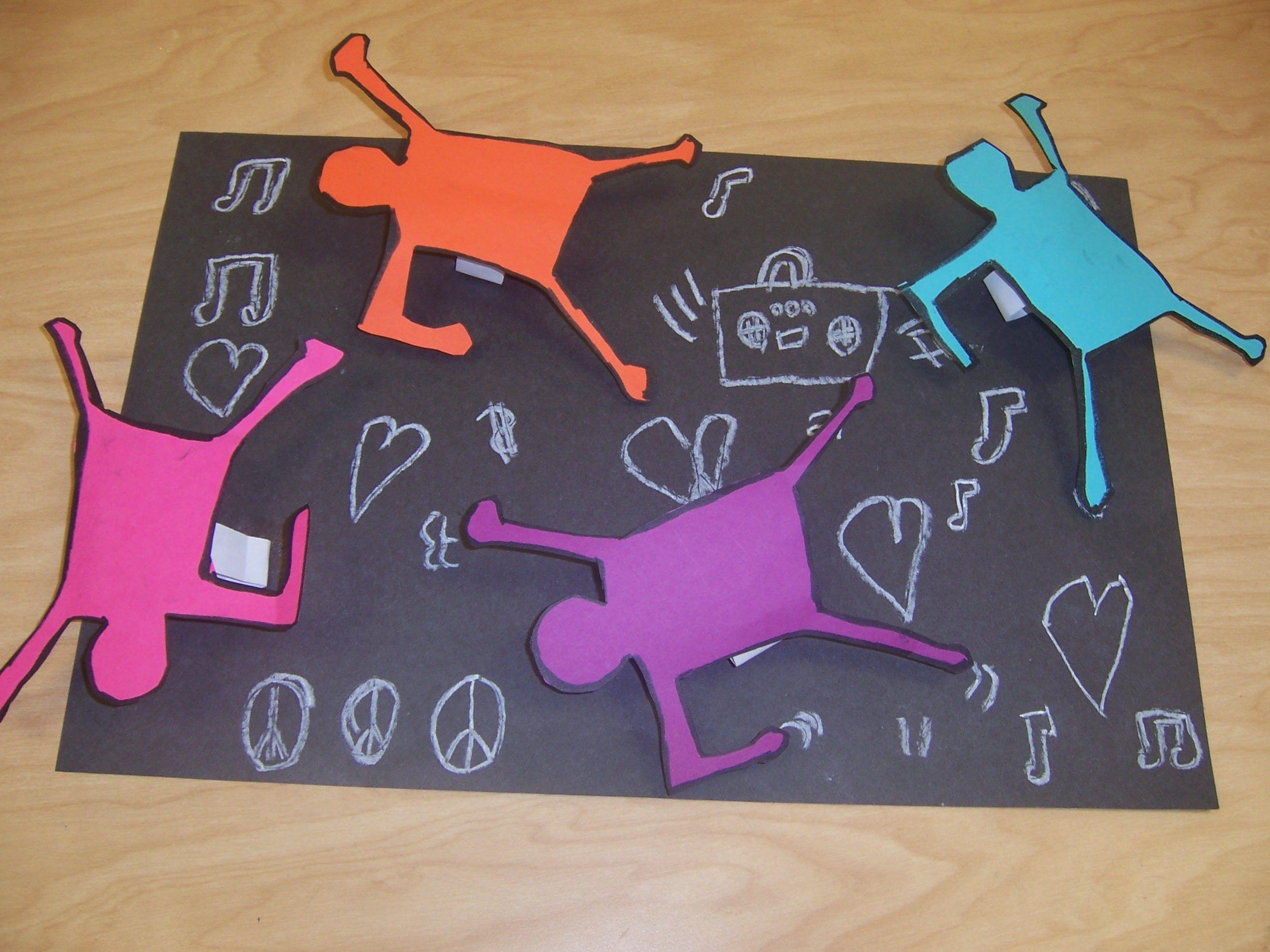 Inspired By Keith Haring 1st Grade Art Teacher V