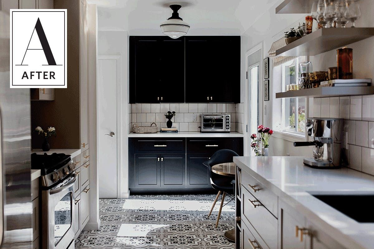 Before & After: Good Golly This Galley Got Gorgeous