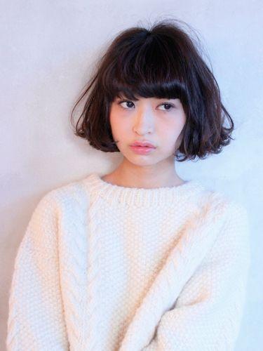 マチルダボブショート Hair Envy Hair Cuts Hair Styles Curly