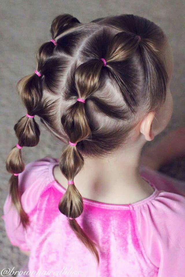 Doble Coleta Hair Styles Little Girl Hairstyles Girl Hair Dos