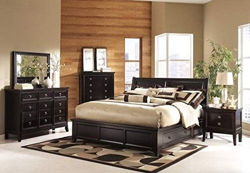 Ashley Martini Suite B551 4 Pc King Platform Bedroom Set   In Home White  Glove Delivery