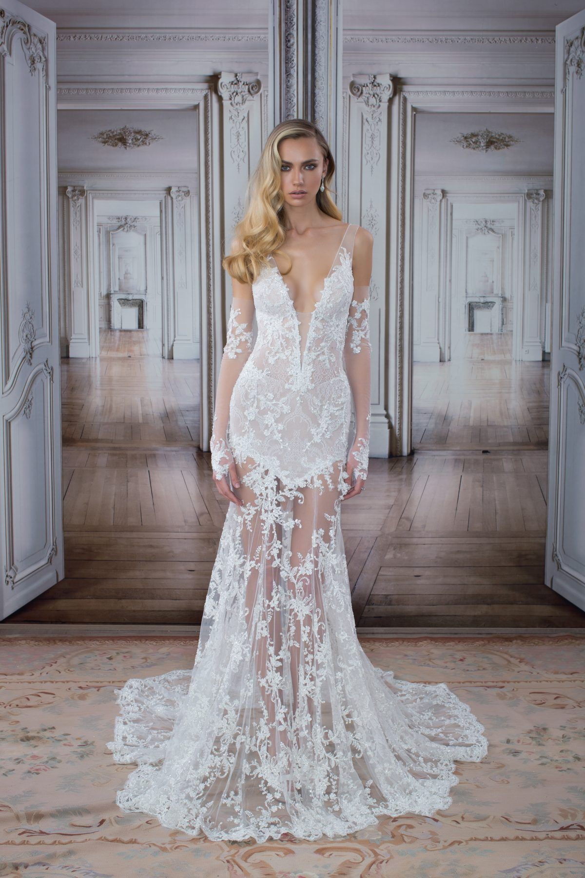 f5c25f4f019a Sexy Sheath Wedding Dress by Love by Pnina Tornai - Image 1 zoomed in
