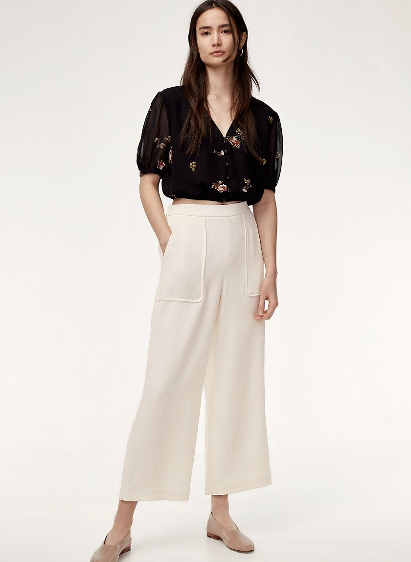 1a1e1517f2 Boissier pant in 2019 | 68 CW summer | Pants, Cropped pants ...