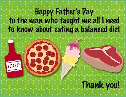 Dad S Balanced Diet Balanced Diet Diet Diet Recipes Easy