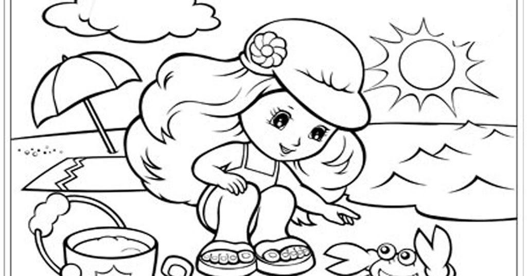 Gambar Mewarnai Untuk Anak Anak Dengan Gambar Gambar Kelinci