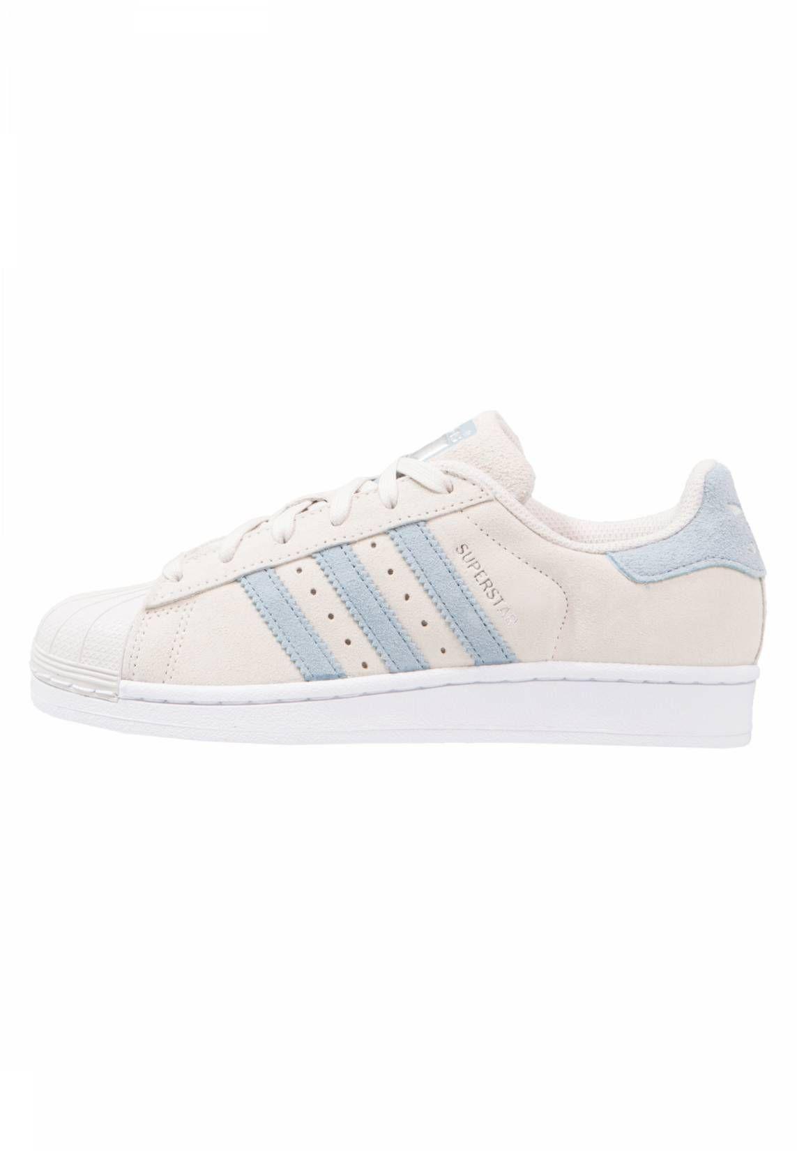 2cecdb7c9ec adidas Originals. SUPERSTAR - Sneaker low - pearl grey tactile blue. Sohle