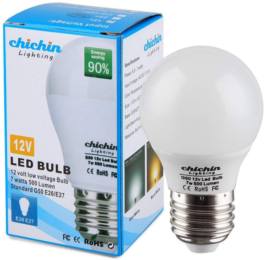 Chichinlighting 12volt Led Bulb E26 E27 Standard Base 12vac 12vdc Off Grid Cabin Rv Camper Trailer Solar Systems Warm White 27 In 2020 Led Bulb Flexible Led Light Bulb