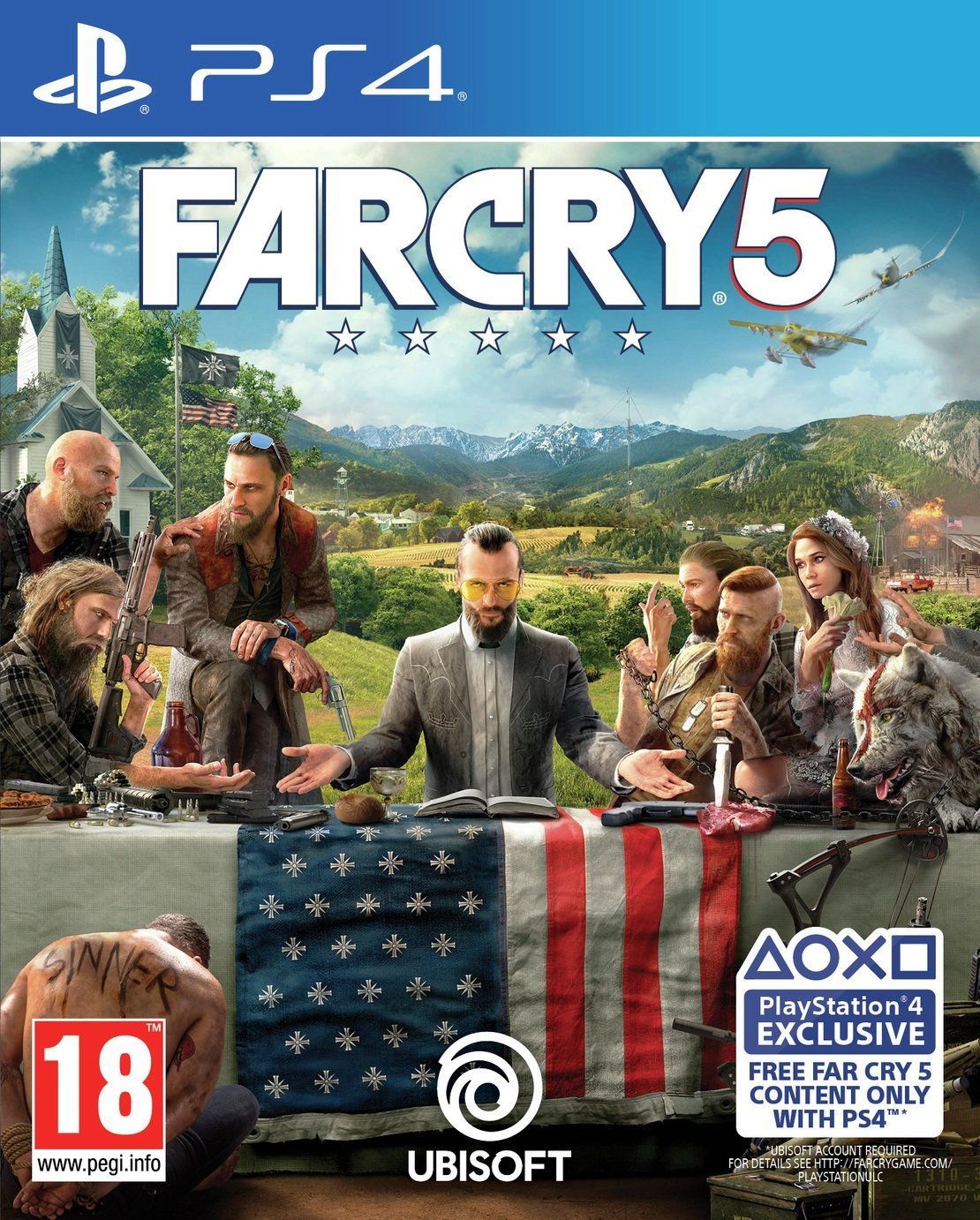 Buy Far Cry 5 PS4 Game PS4 games Argos in 2020 Far