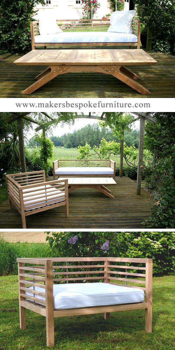Bespoke Garden Furniture by Makers in 2020   Garden ...