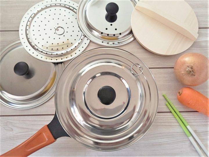 こんな裏ワザがあったのか 100均の鍋蓋 活用術 Folk 鍋 蓋 100均 押し寿司