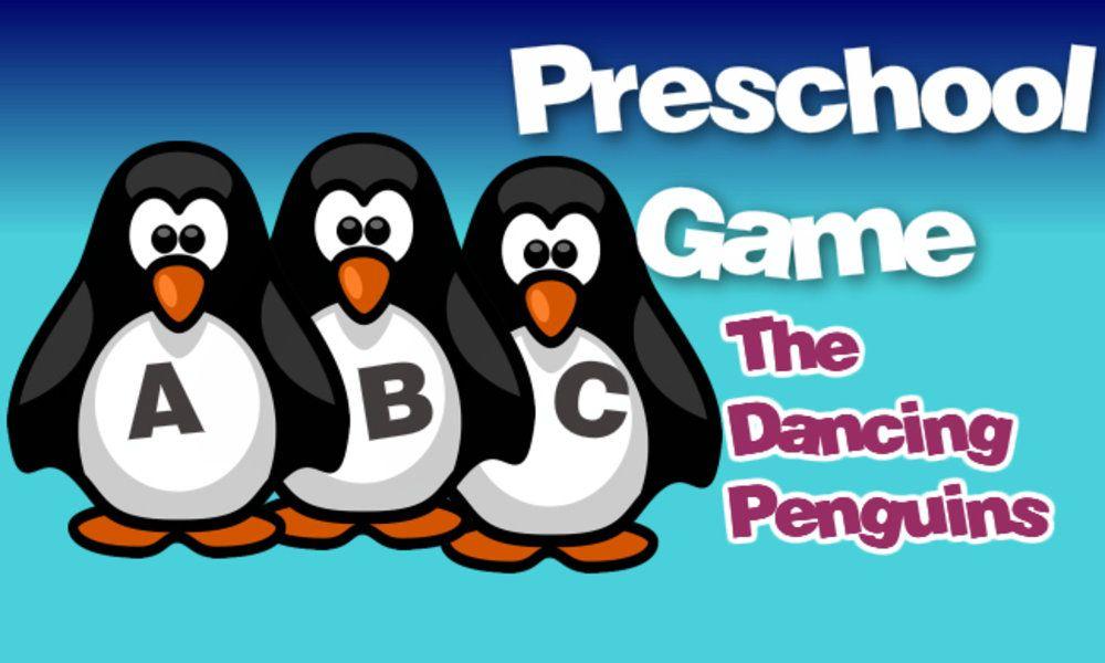 Video worksheets for preschool, kindergarten, Dancing Penguins; ABC ...