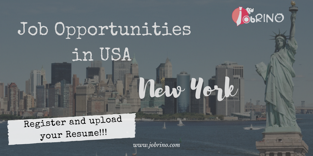 Find Job Opportunities In Usa Newyork That Boost Your Career