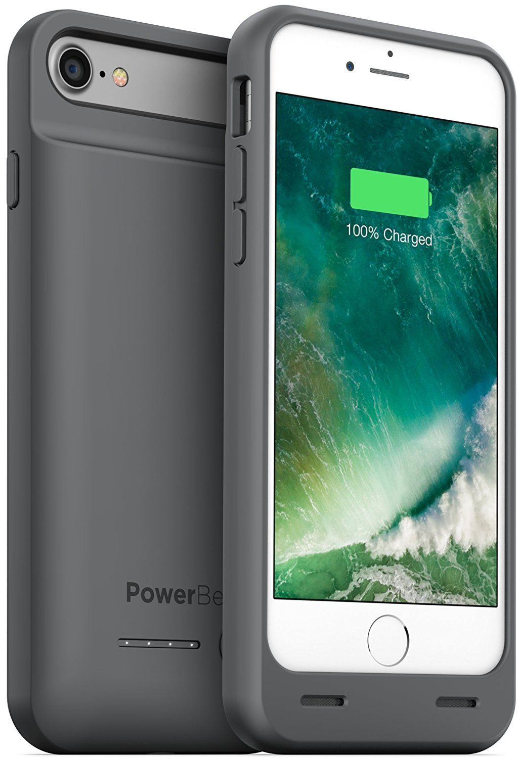 check out 4875a 6fbae PowerBear iPhone 7 Battery Case / iPhone 8 Battery Case (MFI ...