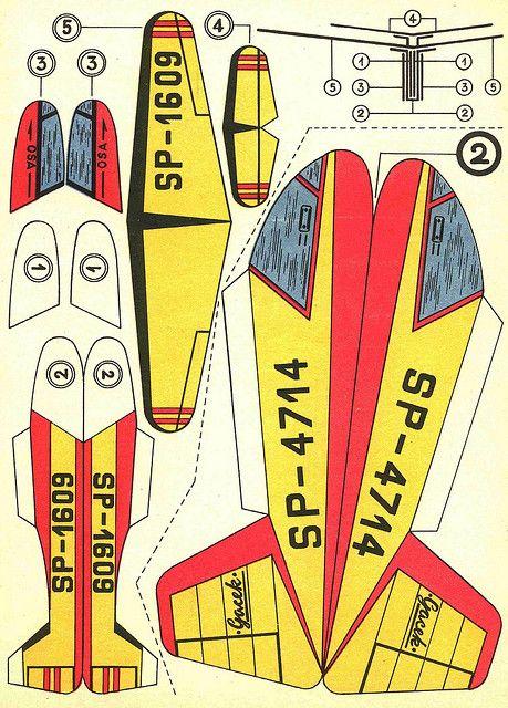 Vintage Model Plane 47