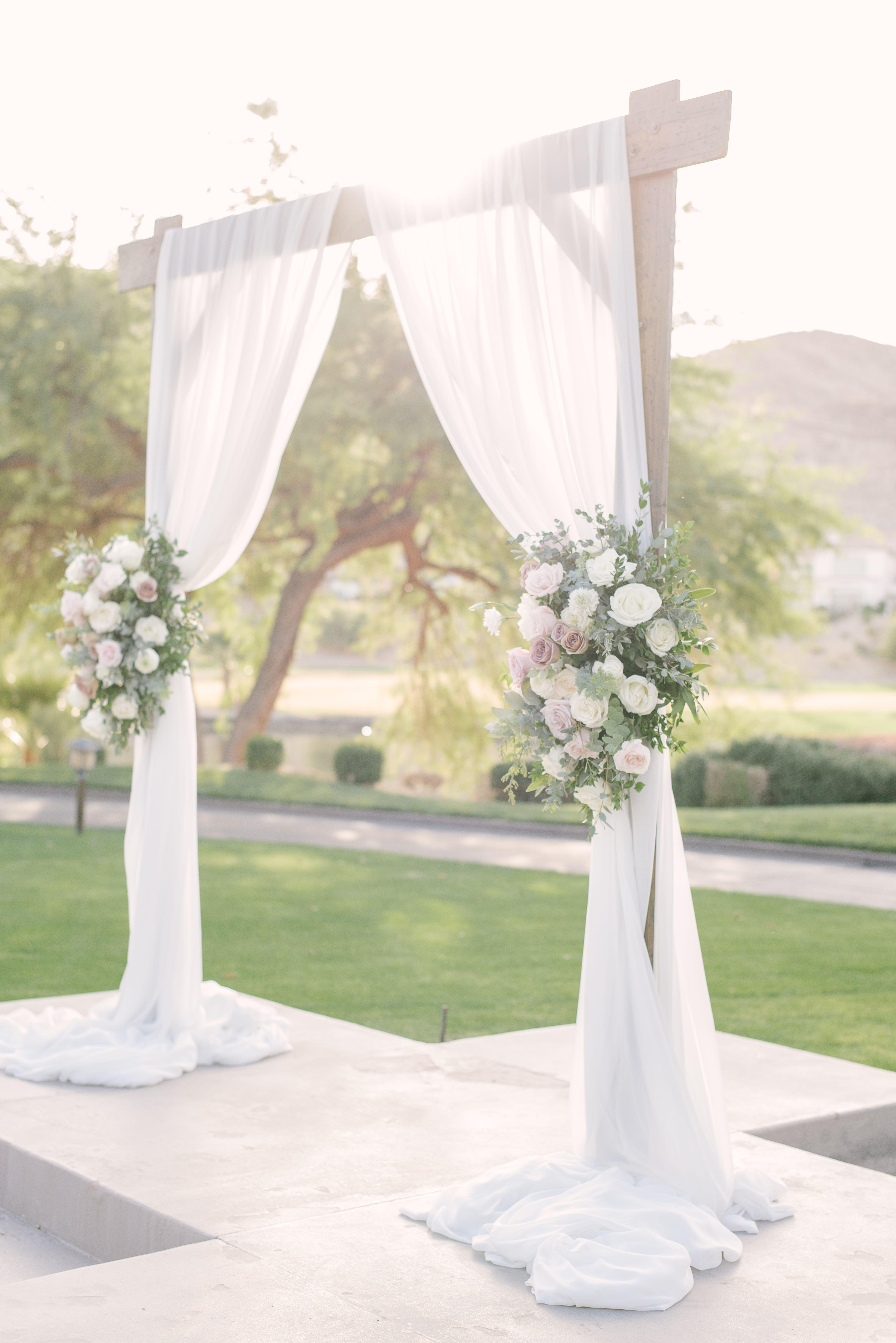 30 Best Floral Wedding Altars Arches Decorating Ideas Countryside Wedding Navy Rustic Wedding Wedding Arch Rustic