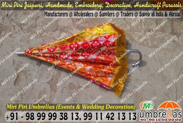 Traditionally decorated umbrella for a traditional indian wedding traditionally decorated umbrella for a traditional indian wedding supply network delhi india junglespirit
