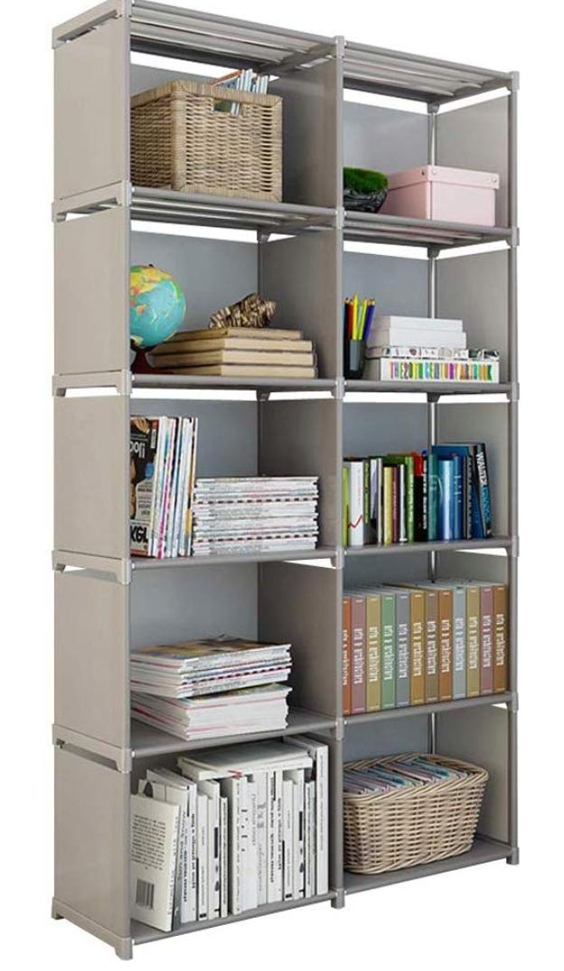 Cube Organizer Shelf 10 Cubes Storage Shelves Closet Organizer Cabinet Bookcase Cube Storage Shelves Shelves Closet Shelf Organization