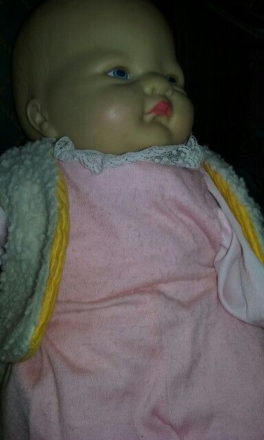 My one and only baby doll lost as I wee one...given to me by my Mom. Don't know how she found the exact doll from the 60's but thanks Mom