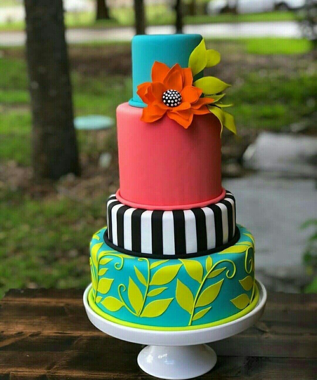 كيك الوان Cake Lover Colorful Cakes Cake