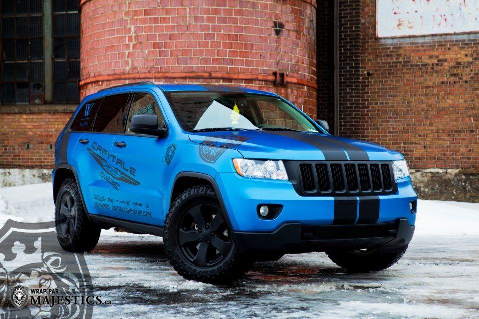 Metallic Matte Blue Cherokee Laredo X Jeep Jeep Grand Cherokee Amazing Cars