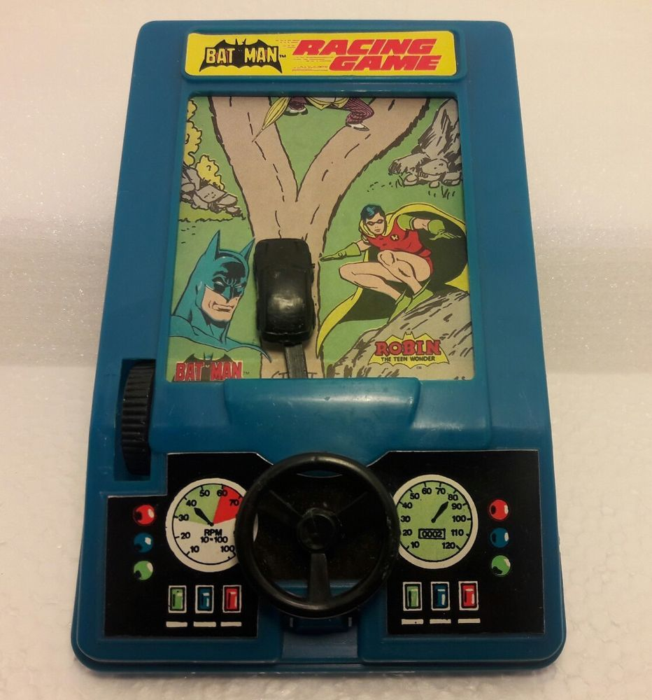 1980s DC Comics BATMAN RACING GAME Batmobile Manual Racing Game 80s Vintage... https://t.co/bA8iFM5S8j https://t.co/yNxN1oykUN