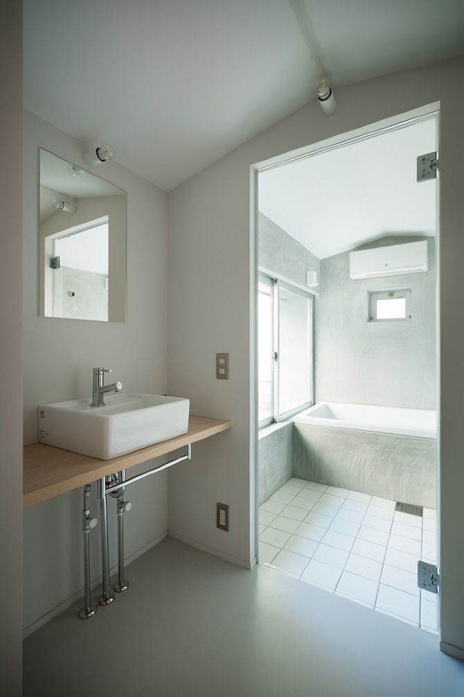 simple bathroom (without system furniture)
