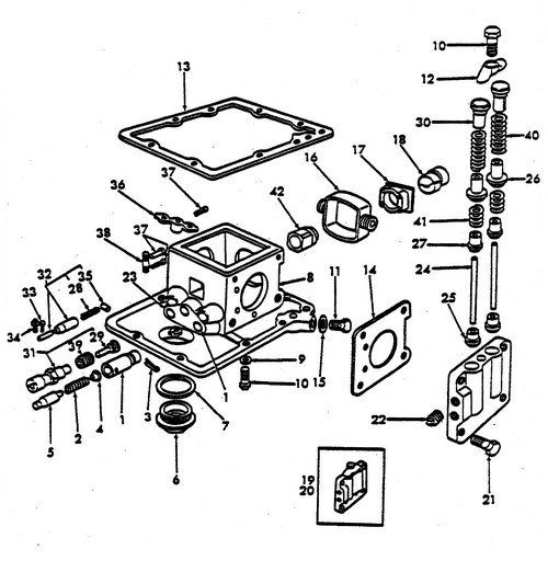 hydraulic pump parts for ford 8n tractors (1947-1952 ... ford 2000 tractor starter wiring ford 2000 tractor hydraulic pump diagram