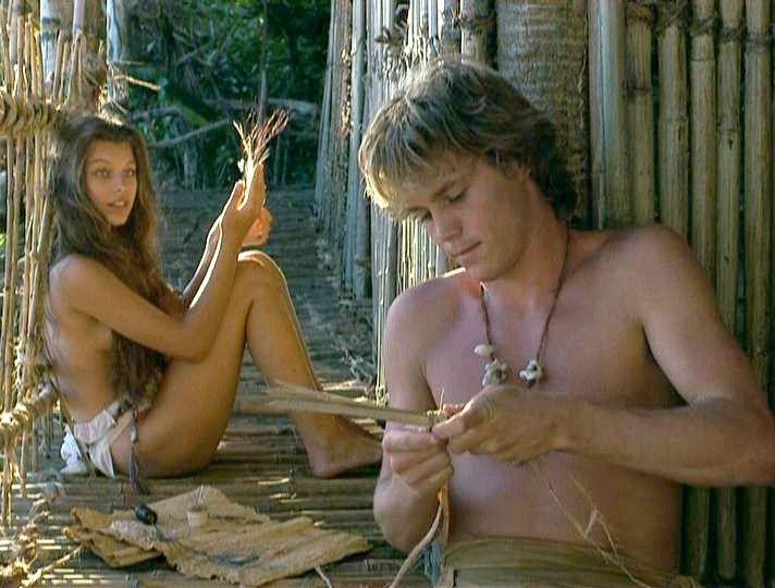 Blue lagoon movie nude