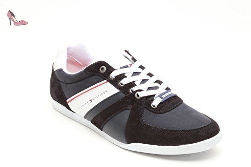 Tommy Hilfiger Herren Sneakers Riley 2C, Grosse:42;Farben Hilfiger:midnight (403) - Chaussures tommy hilfiger (*Partner-Link)