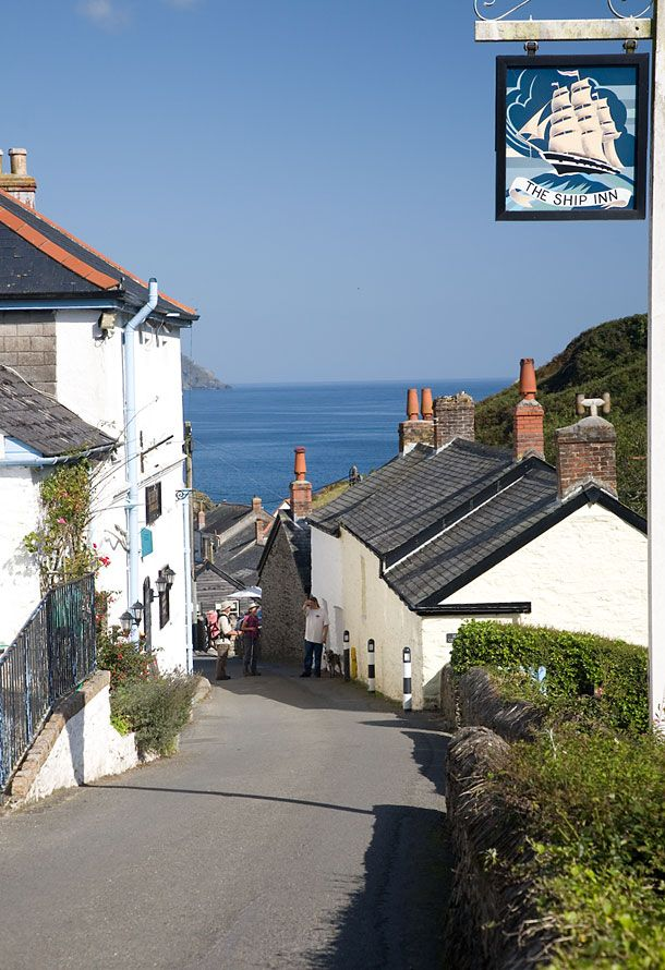 Cornwall Photos Cornwall England Beautiful Places To Visit The Ship Inn