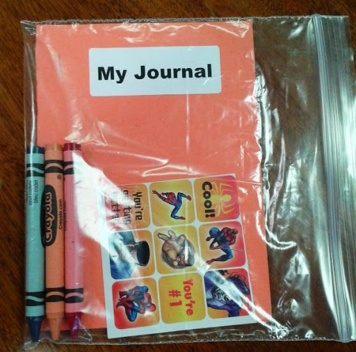 Caitlin\'s Smiles - Preschool Journal coloring kit | Craft Kits for ...