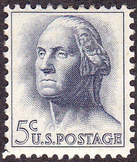 Washington 1962 Issue 5c