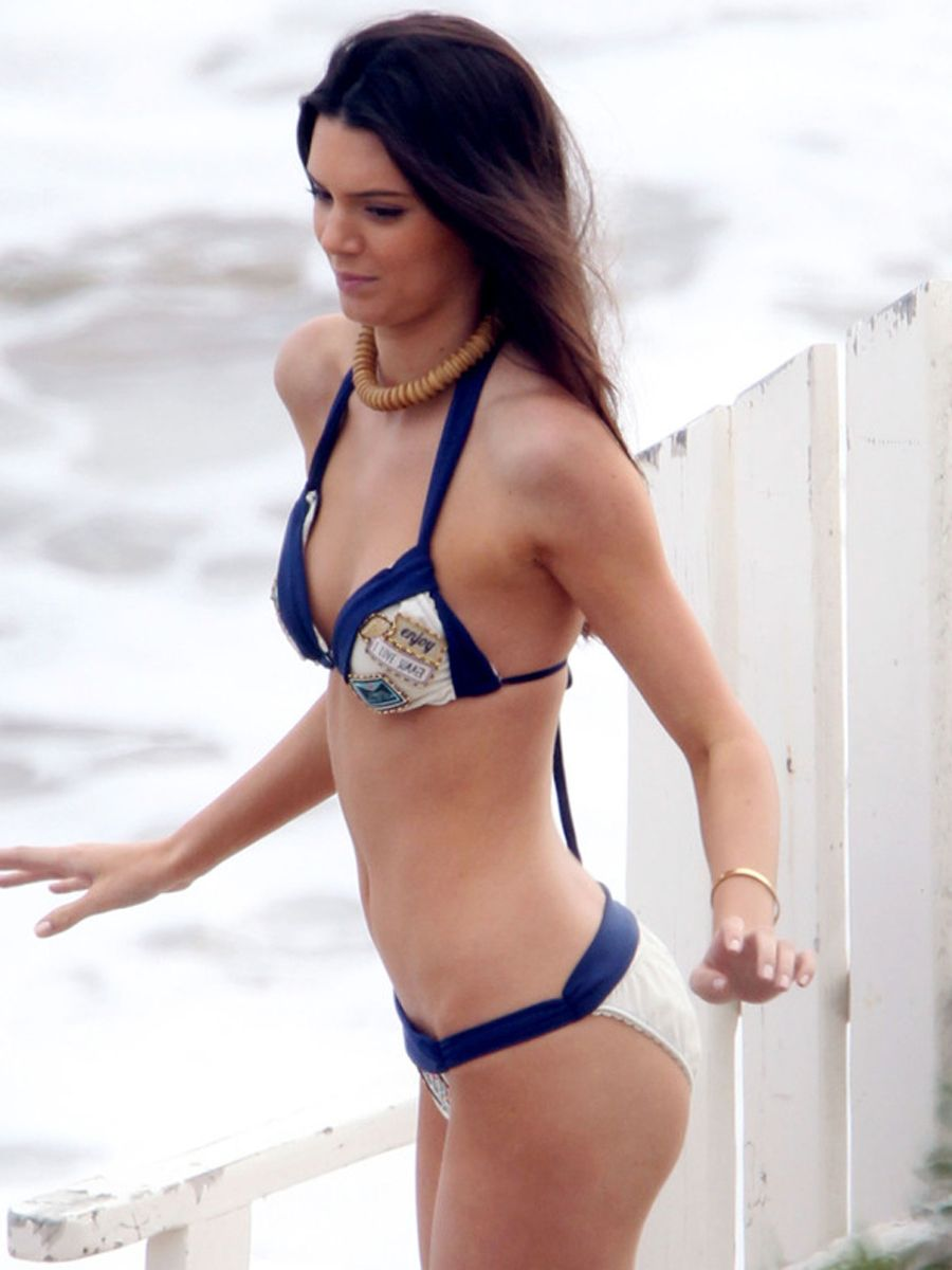 Kendall Jenner Inappropriate Swimsuit Pics