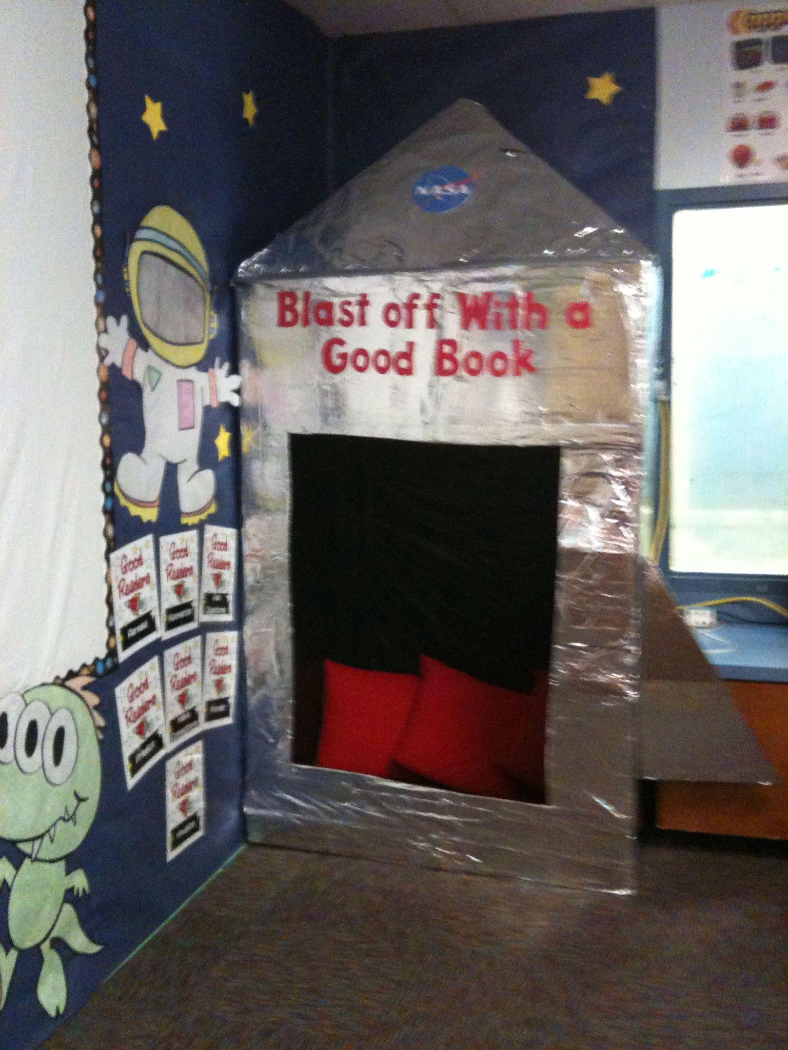 Die besten 25 space reading corner ideen auf pinterest leseecken leseecke kinder und - Kinderzimmer zuhause im gluck ...