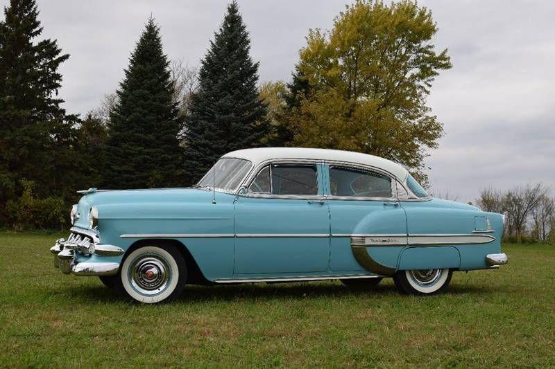 1954 Chevrolet Bel Air 4 Door Sedan Chevrolet Bel Air Chevy Bel Air Bel Air