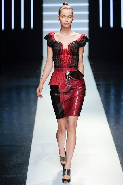 The CONWAY: Maxime Simoens Haute Couture Spring 2012