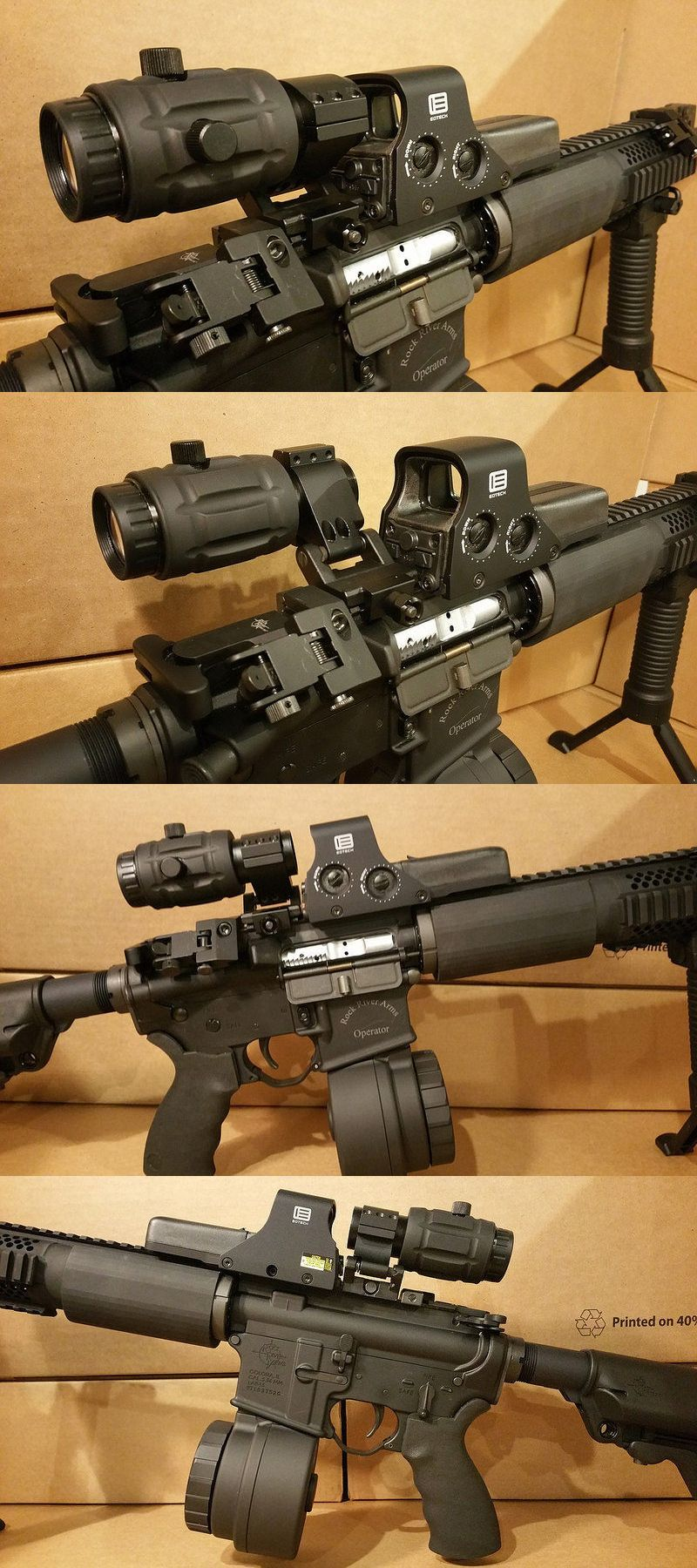 Red Dot And Laser Scopes 66827 Eotech 512 W 3x Vector Optics
