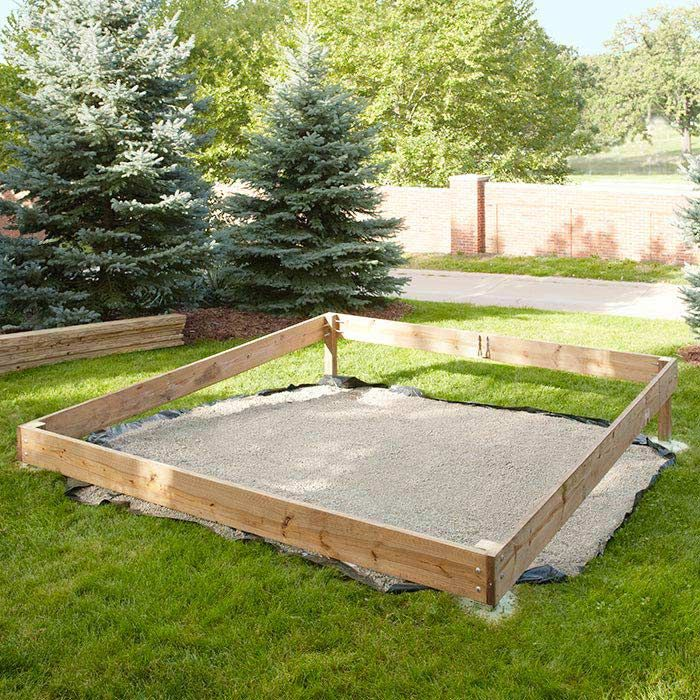 Assemble The Perimeter Frame Of The Platform Deck Water