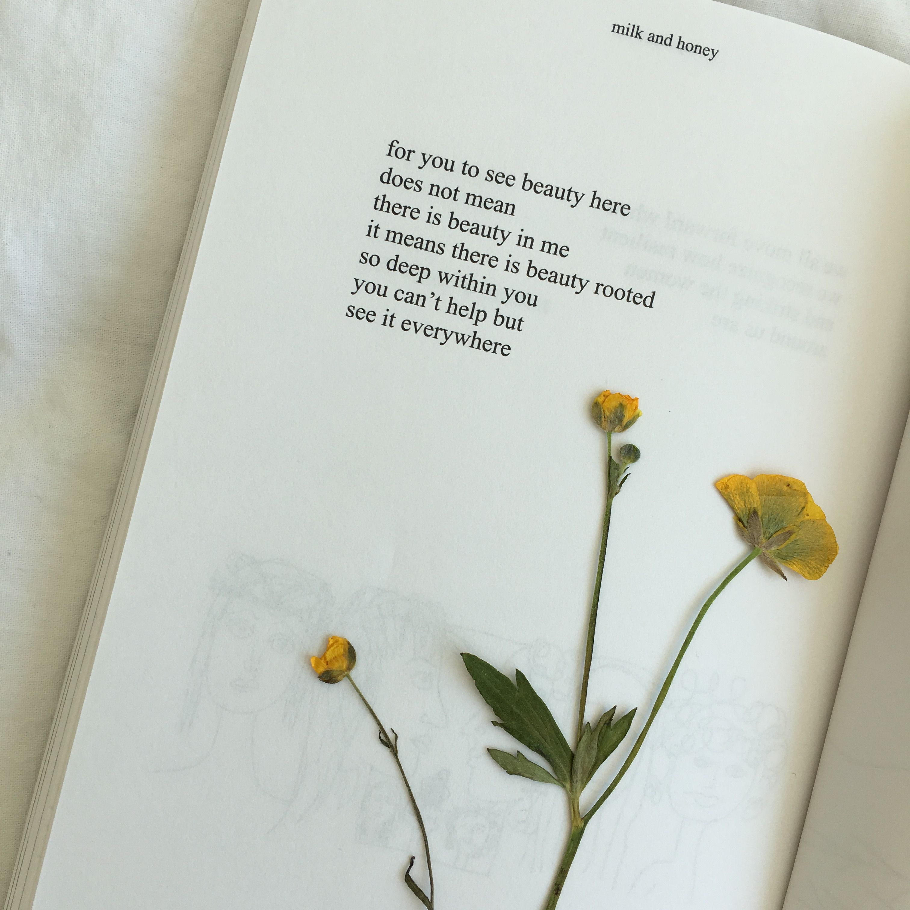 Milk And Honey By Rupi Kaur Food For Thought Pinterest Rupi