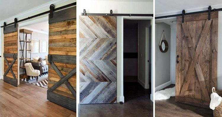 Lovely Interior Sliding Barn Door Designs