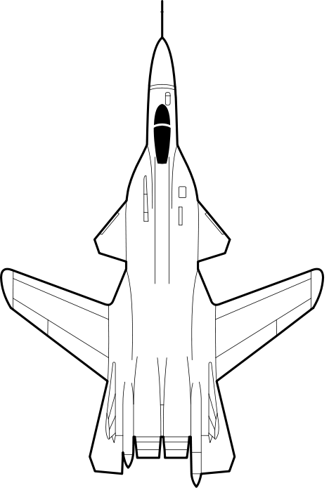 Sukhoi Su 47 Outline