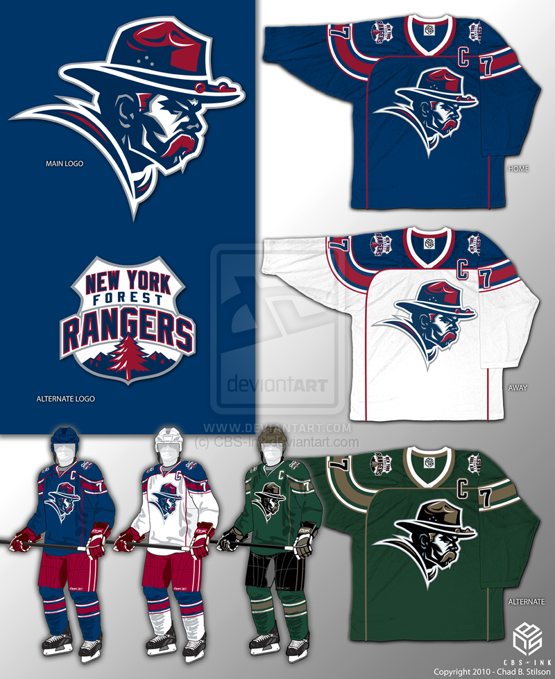 b303f2514 New York Rangers Concept by CBS-Ink.deviantart.com on  deviantART ...