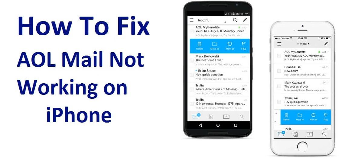 Aol mail not working on iphone android mac 800289