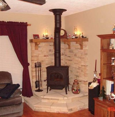 Mantle ideas for wood stove. - Mantle Ideas For Wood Stove. Dream Home Decor & Style