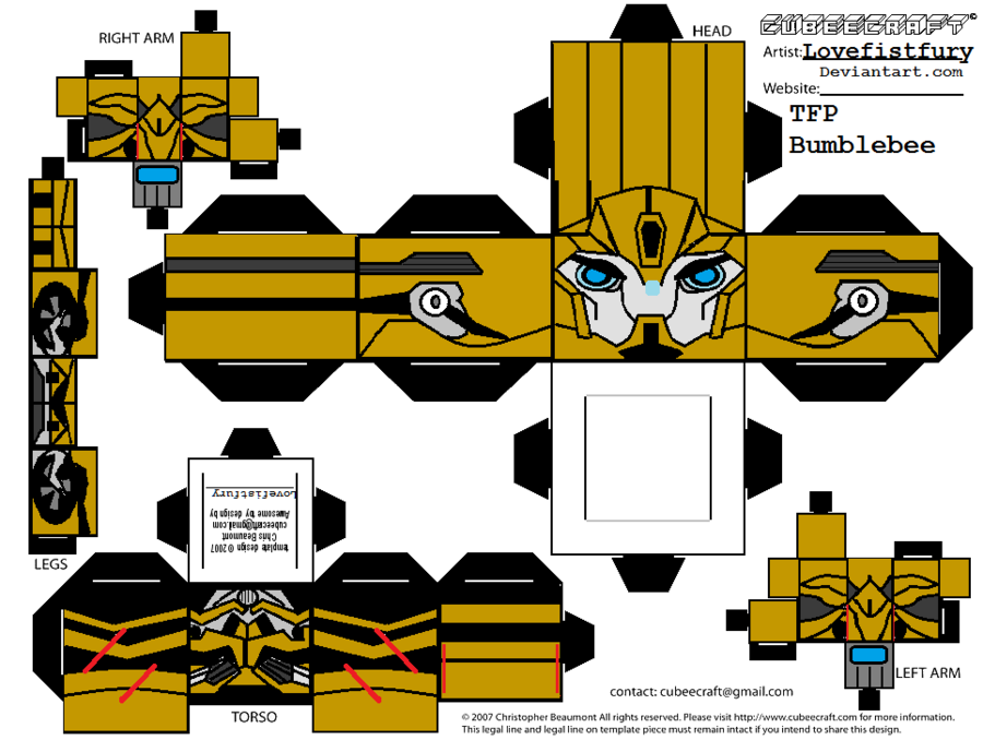 TRANSFORMERS PRIME BEE cubee part 1 by lovefistfury on deviantART ...