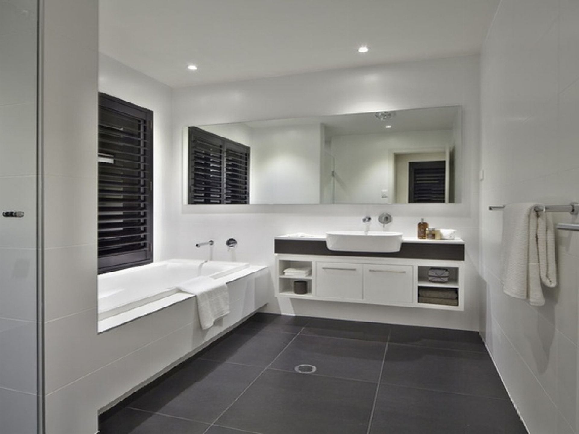 Natural Bathroom Colour Schemes Grey Bathroom Tiles Grey