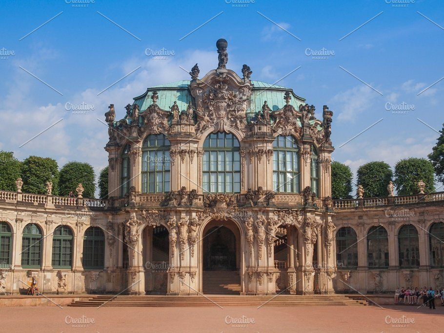 Dresden Zwinger Architecture Photo Photo Dresden Germany