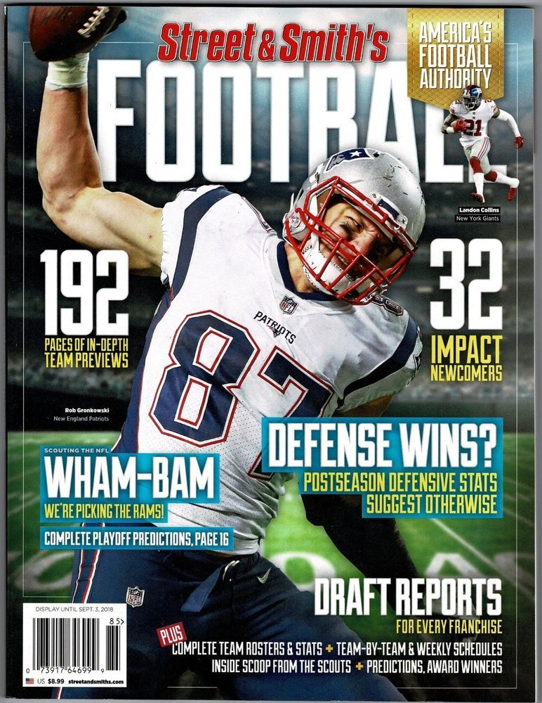 New Street & Smith's 2018 NFL Football Yearbook Guide Rob