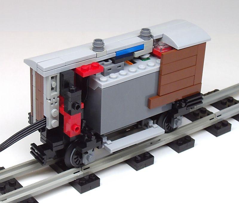 Mini lego train 4 stub