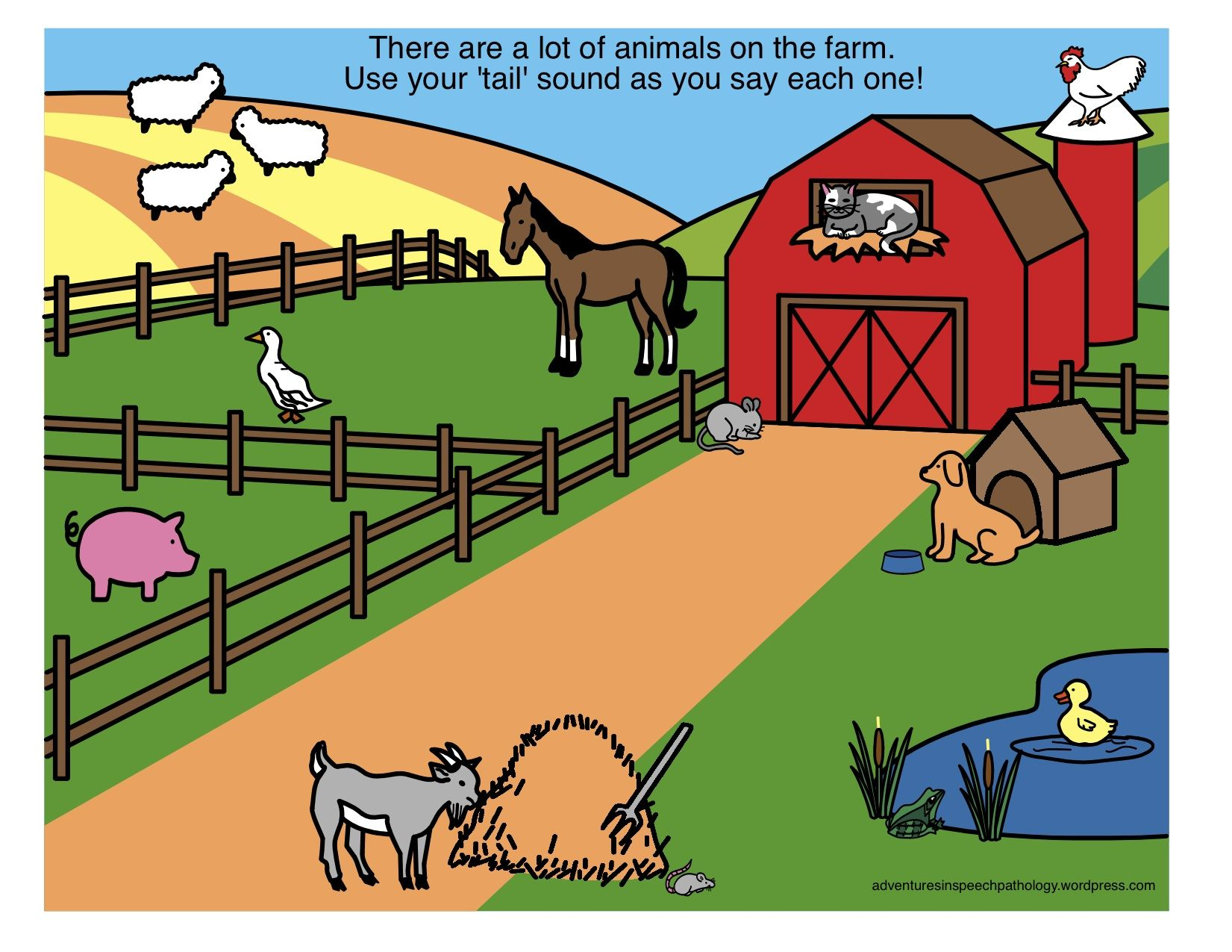 Final Consonant Deletion Sound Loaded Scenes Farm Zoo